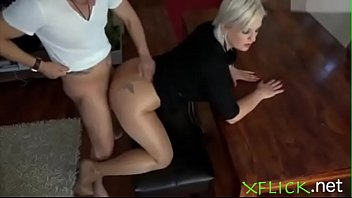 Mature milf wants a quick fuck before going to work - For more go to xflick.net