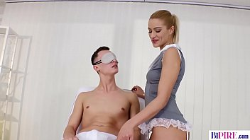 Sensual Cherry Kiss Providing The Stepbrother Of Boyfriend As A Surprise Threesome