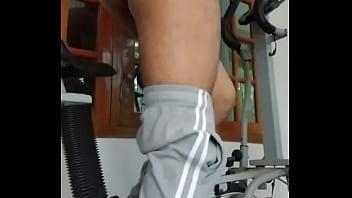 Naked indian boy workout