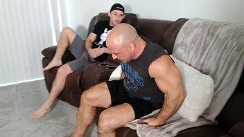 Toby kicks Tony Dinozzo in the balls
