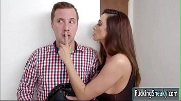 Milf Ariella sucks Jessy huge dick