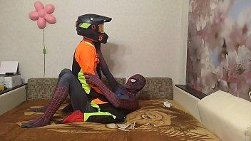 Gay Spiderman X Motocross