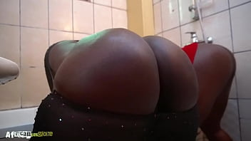 big black ass and big boobs friends get fucked by her neighbor