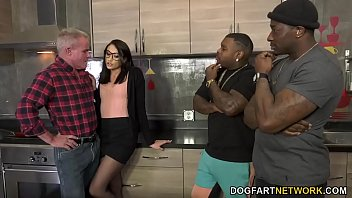 Avi Love Brings Two Black Men Home For A DP - Cuckold Sessions