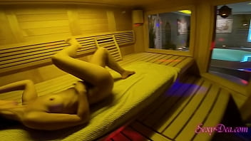 Big ass Pornstar Sexydea Fucked Super Hard in The Sauna