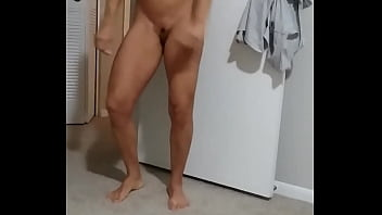Wife showing off for personal