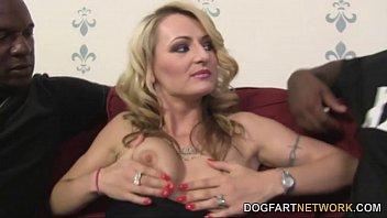 Euro Slut Natasha Starr Gets DP'd By Black Men thumbnail