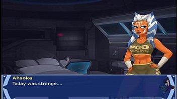 Xxx anal video games - Star wars orange trainer part 20 cosplay bang hot xxx