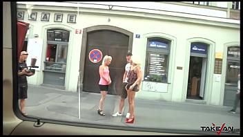 Czech sluts takes care of my hard dick 24 min