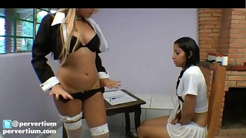 Lesbian Licking and Piss Swallow Domination 8
