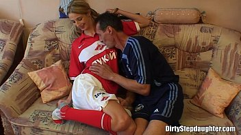 Blonde Teen Stepdaughter Deep Fucked By Her Stepfather thumbnail