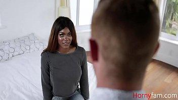 Making Love With Busty Ebony Sister- Jordy Love