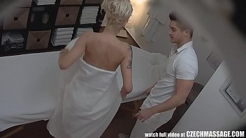 Masage sex - Beautiful big tits blonde on czech massage