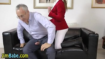 Equestrian strips Teen fingered and sucks