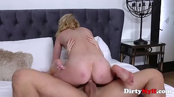 Hot Blonde MILF Chills With A Young Cock- Tiffany Fox