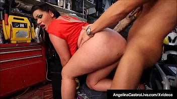 Cuban Porn Queen Angelina Castro Sucks & Fucks A Horny Cock!