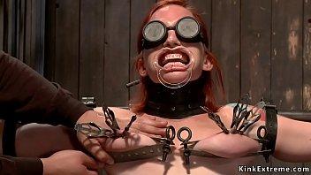 Extreme latina bondage - Masters extreme tormenting redhead sub