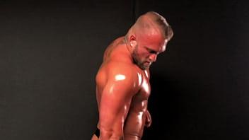 Tatted Up Alpha Stud Muscle Worship & Massive Cumshot!