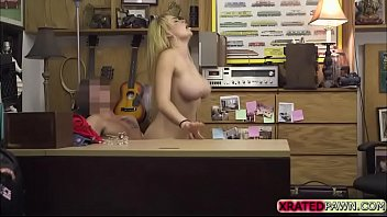 Tiara ass Skyla novea makes some cash blowing pawnmans dick