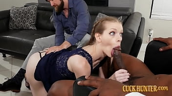 Teen Stepdaughter Nym Fleurette Given To A Big Black Cock Creampie 4分钟
