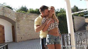 PARADISE FILMS Stunning busty blonde babe 13 min