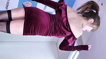 公众号【91公社】超性感韩国美女包臀裙黑丝户外走光热舞串烧 pornhub video
