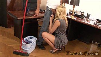 Kumalott - Big Tits Milf Boss Bang Employee on Office Desk 22 min