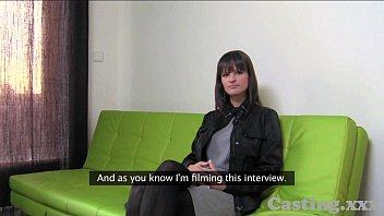 Casting HD Massive natural tits amateur in casting 11 min