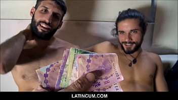 Two Traveling Spanish Latino Guys Fuck Each Other For Cash POV
