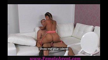FemaleAgent Gentle Giant Makes Female Agent Weak At The Knees