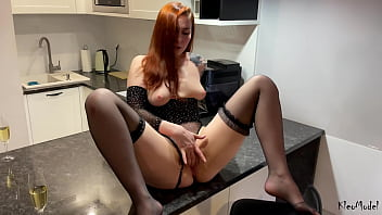 Facial and Hotel Sex with Redhead wife KleoModel