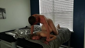 Amateur blonde loves big white cock