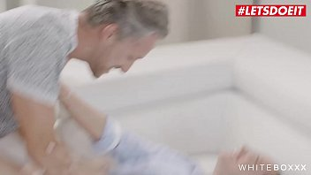 WHITE BOXXX - #Stacy Cruz - Playful Seductive Czech Babe Tease Daddy And Fucks Hard With Him