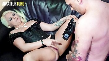 AMATEUR EURO - German BBW Jessy Blue Fucks For The First Time On Camera