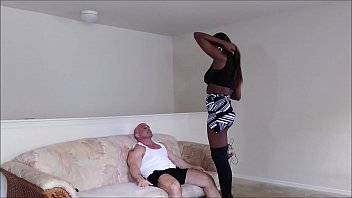 Paris Love gives Tony a lap dance and gets creampie