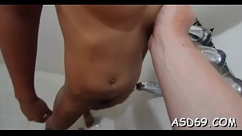 Horny guy goes really mad about fucking wet asian snatches