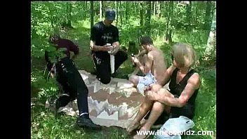 Nude family hiking - Rocky tries hitch-hiking