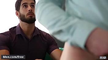 """(Alex Mecum, Diego Sans, Blake Hunter) - Couples Counseling Part 2 - Trailer preview - Men.com <span class=""""duration"""">2 min</span>"""