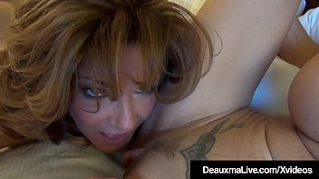 Mature Mommies Deauxma & Brooke Tyler Share A Double Dildo!