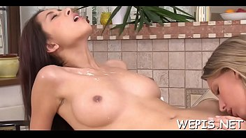 Wicked playgirl makes pissing and then grabs toys for drilling thumbnail