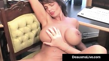 Deauxma milf pic - Mature housewife deauxma takes hubbys cock in her asshole