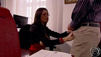 Sensual Jane vs David Perry - Secretary with special service