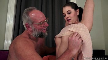 Very sexy hot cards Angelina brill fucks an older gentleman