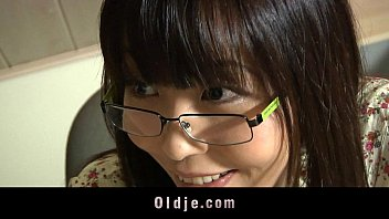 Asian teen fucking older bald teacher 6 min