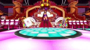 Bondage Queen Dancing