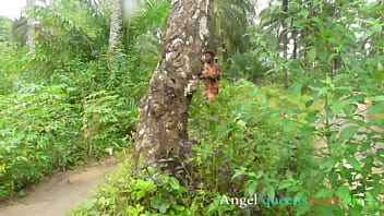 Outdoor masquerade fuck Angel queenshome9ja,  African tradition bush sex hardcore foursome in (Bush sex complete)