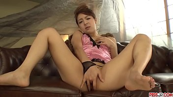Nana Ninomiya plays with her pussy before getting the dick - More at Pissjp.com 12 min