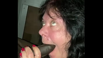 White Granny Sucking Long Black Dick