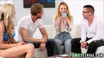 Teens like it big hd - Family game night orgy with stepsister alina west