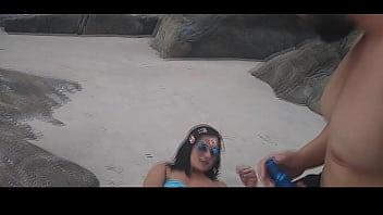 Bianca Naldy: Especial Na Praia Trailer meninas na praia de nudismo